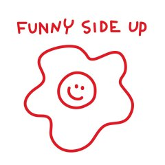 Funny-side-up-rood