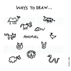 Ways-to-draw-Animal ©️studiolimon.com