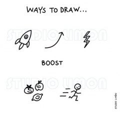 Ways-to-draw-Boost ©️studiolimon.com