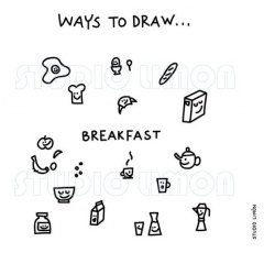 Ways-to-draw-Breakfast ©️studiolimon.com