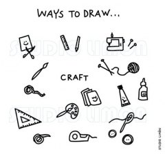 Ways-to-draw-Craft ©️studiolimon.com
