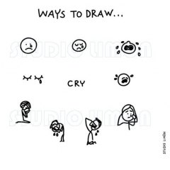 Ways-to-draw-Cry ©️studiolimon.com