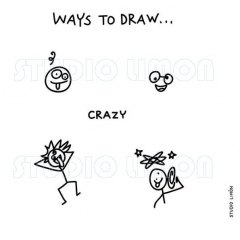 Ways-to-draw-Crzay ©️studiolimon.com