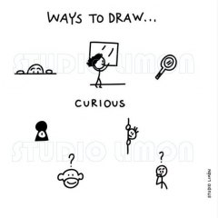 Ways-to-draw-Curious ©️studiolimon.com
