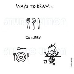 Ways-to-draw-Cutlery ©️studiolimon.com