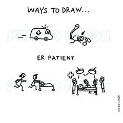 Ways-to-draw-ER-patient ©️studiolimon.com