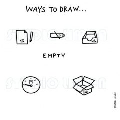 Ways-to-draw-Empty ©️studiolimon.com