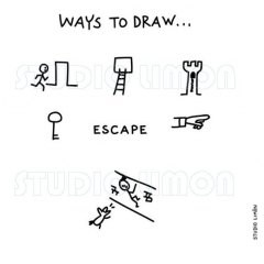 Ways-to-draw-Escape ©️studiolimon.com