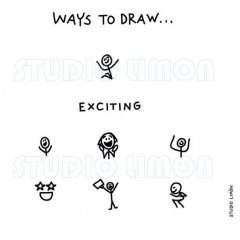 Ways-to-draw-Exciting ©️studiolimon.com