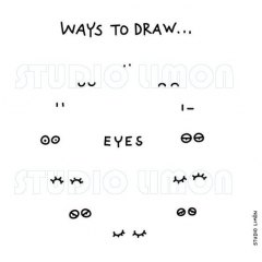 Ways-to-draw-Eyes ©️studiolimon.com