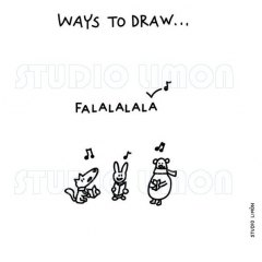Ways-to-draw-Falalalala ©️studiolimon.com