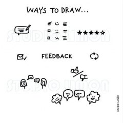 Ways-to-draw-Feedback ©️studiolimon.com