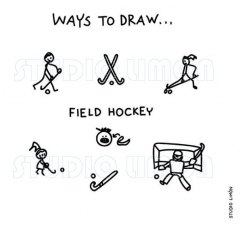 Ways-to-draw-Field-hockey ©️studiolimon.com