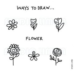 Ways-to-draw-Flower ©️studiolimon.com