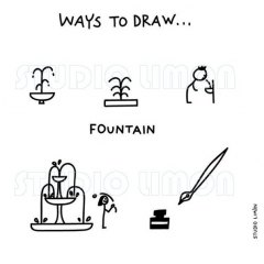Ways-to-draw-Fountain ©️studiolimon.com