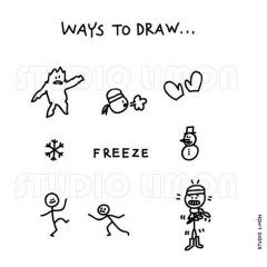 Ways-to-draw-Freeze ©️studiolimon.com