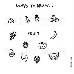Ways-to-draw-Fruit ©️studiolimon.com