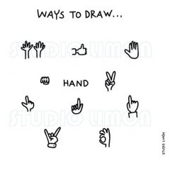 Ways-to-draw-Hand ©️studiolimon.com