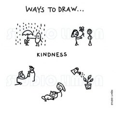 Ways-to-draw-Kindness ©️studiolimon.com
