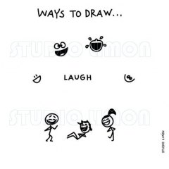 Ways-to-draw-Laugh ©️studiolimon.com