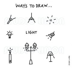 Ways-to-draw-Light ©️studiolimon.com