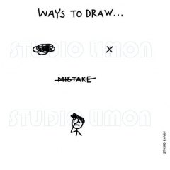Ways-to-draw-Mistake ©️studiolimon.com
