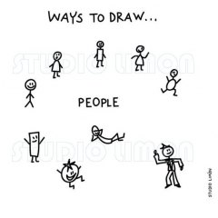 Ways-to-draw-People ©️studiolimon.com