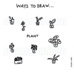 Ways-to-draw-Plant ©️studiolimon.com